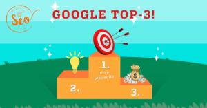 Wie man die Google TOP 3 erreicht
